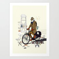 Parisian Dream Art Print