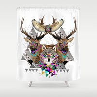 ▲FOREST FRIENDS▲ Shower Curtain