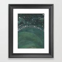 Galaxy No. 3 Framed Art Print