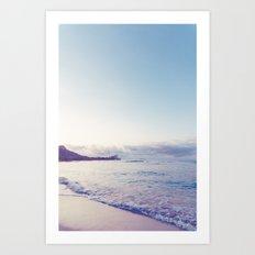 beach time ver.pink Art Print