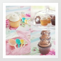 Cupcake Lover Art Print