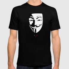Vendetta Mens Fitted Tee Black SMALL