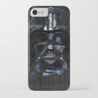 darth vader iPhone & iPod Cases featuring Darth Vader by BarLevitsky
