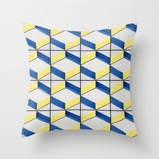 Azulejos 12 Throw Pillow