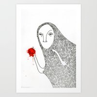 Creature 1 Art Print