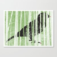 Forrest for the Bird Canvas Print