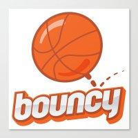 Bouncy Canvas Print