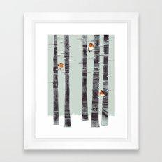 Robin Trees Framed Art Print