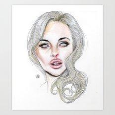 Lindsay By Lucas David 2… Art Print