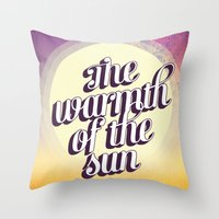 The Warmth Of The Sun Throw Pillow