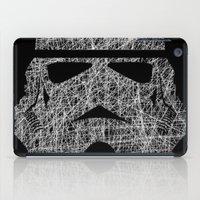 Lines of Trooper iPad Case