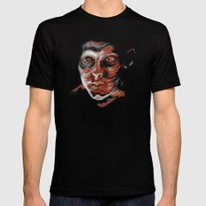 Don't Look Back Mens Fitted Tee Black SMALL