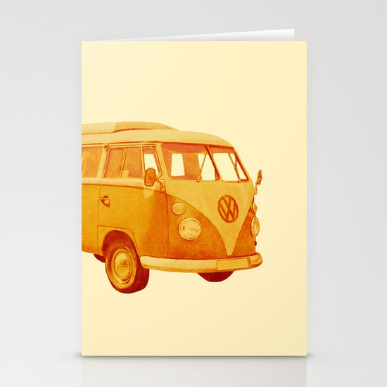 Summer Ride Stationery Card