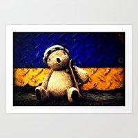 Palin Bear Art Print