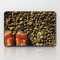 Shoes On The Rocks iPad Case