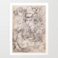 Irezumi Art Print