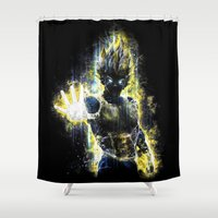 The Prince Of All Fighte… Shower Curtain