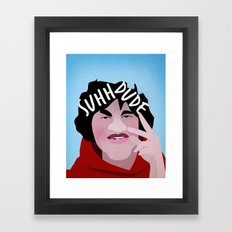 Suh Dude Framed Art Print