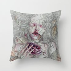 Mary Rogers Throw Pillow