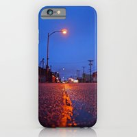 iPhone & iPod Case featuring Empty street by Vorona Photography