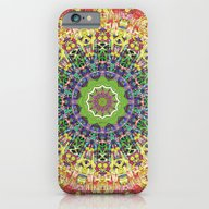 Intricate Colorful Abstr… iPhone 6 Slim Case