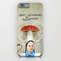 iPhone & iPod Case featuring Alice In Wonderland by Antigoni Chryssanthopoulou - inogitna