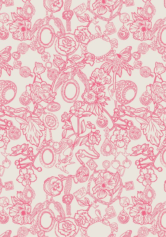 Charming Pink Art Print