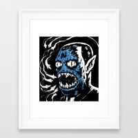 Framed Art Print featuring Adventure Time - Hunson Abadeer / Marceline's Dad by Suarez Art