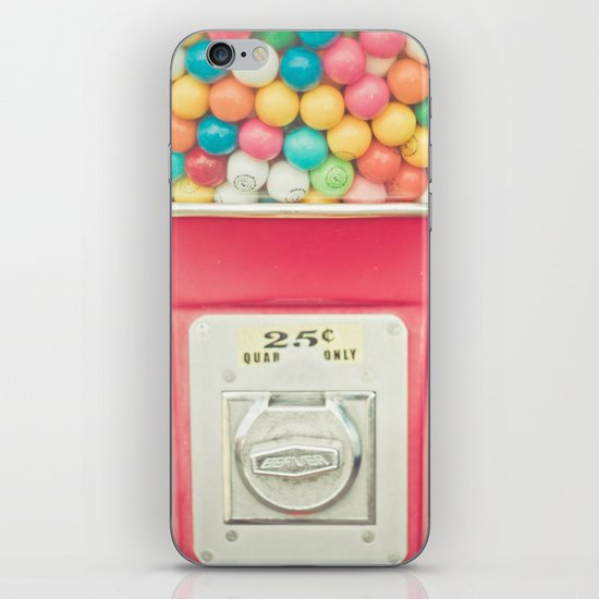 Rainbow Bubblegum iPhone & iPod Skin