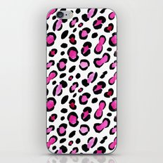 Pink leopard || watercolor iPhone & iPod Skin