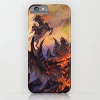 iPhone & iPod Case featuring Lavaclaw Reaches by Veronique Meignaud MTG