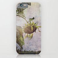 Rural Sky Sunflower iPhone 6 Slim Case