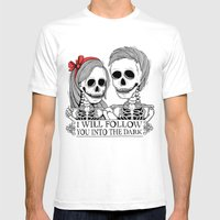 Lovely Bones Mens Fitted Tee White SMALL