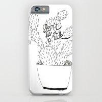 Cactus In Black iPhone 6 Slim Case