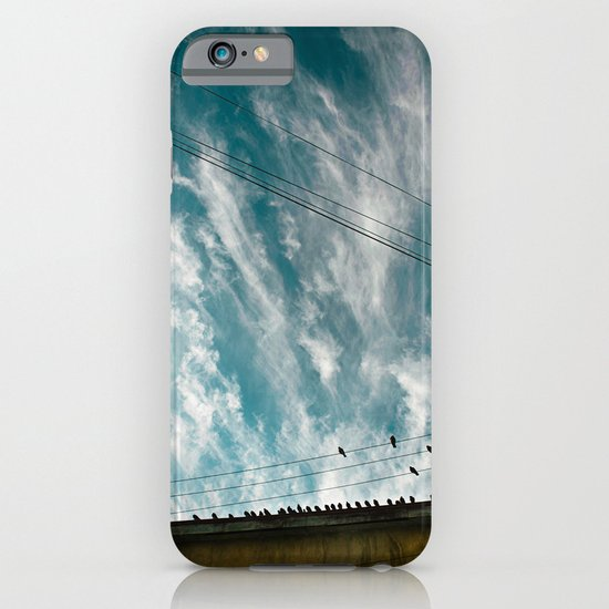 Doves and Wire#2 iPhone & iPod Case