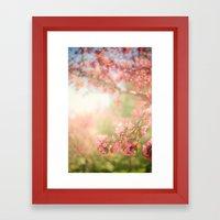 Spring Scene Framed Art Print