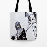 Rooster Man Tote Bag