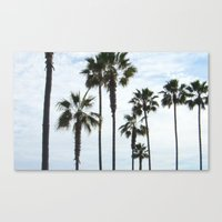 Canvas Print featuring Missions Beach by Clearance21 7