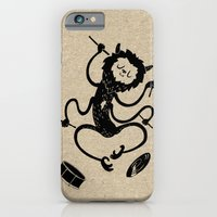 monster iPhone & iPod Cases featuring Monster by Anya Volk