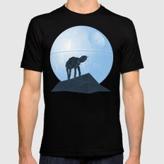 Howl at at the Moon SMALL Black Mens Fitted Tee