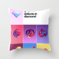 Crystallographic Defects… Throw Pillow