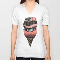 Ice Cream 2 Unisex V-Neck
