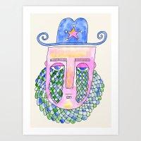 Sea Sheriff Art Print