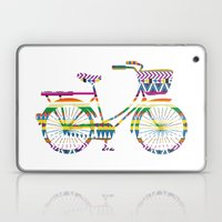 Bicycle with Tribal Pattern Laptop & iPad Skin