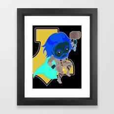 Thunder Warrior Framed Art Print