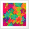In love with colors Art Print