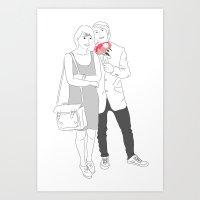 Couprel Art Print