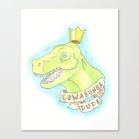 Cowabunga Dude! Canvas Print