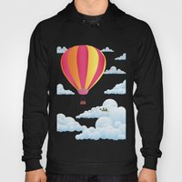 Picnic In A Balloon On A… Hoody