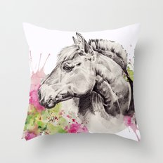 Pomme Surette Throw Pillow